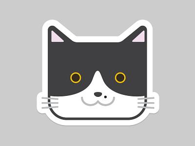 My Cat  animal cute sticker cat