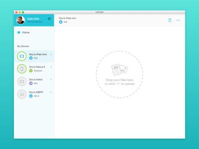 Web app for Diuit dashboard ui web app