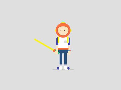 Character 1 boy illustration character