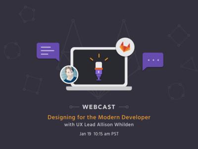 Inside GitLab: Designing GitLab with UX Lead Allison Whilden webcast ux gitlab design git social