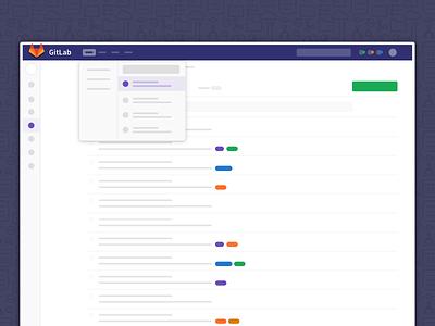 GitLab's New Navigation git gitlab navigation