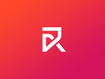 R logo design colorful logo logo design gradient logo logo mark modern logo minimal logo logo branding logo clean logo branding