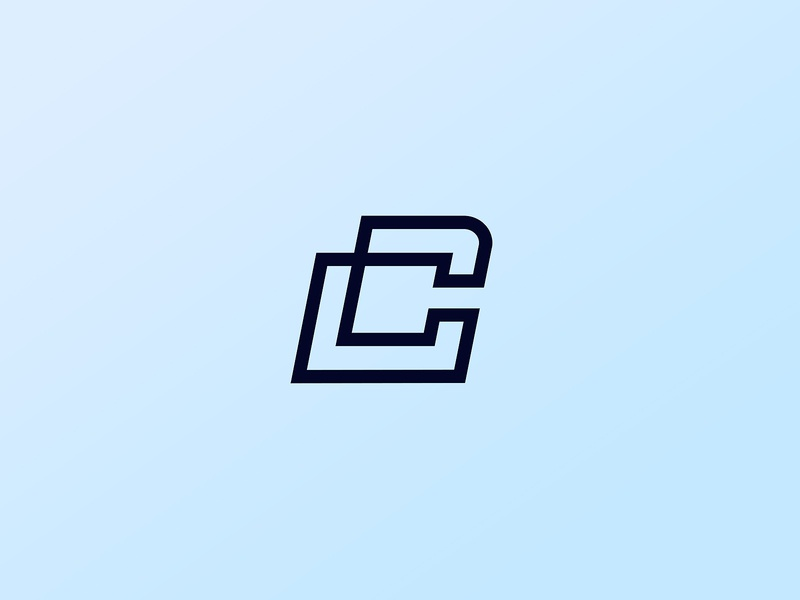 C logo concept gradient logo colorful logo logo mark logo design modern logo minimal logo logo logo branding clean logo branding