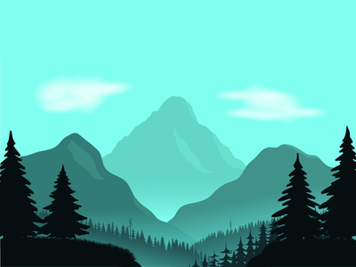 A mountain wallpaper