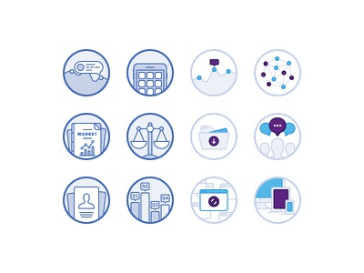 Consumer Insight Icons (Archive) vector illustration icon design