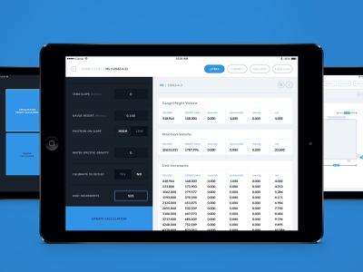 Instruments Calculator  (Archive) app web ux ui design