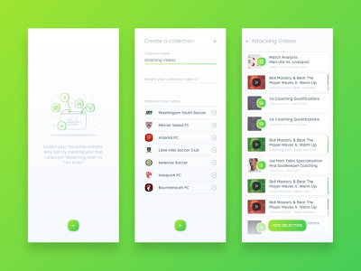 The Coaching Manual - Folder Management (Archive) app web illustration ux management ui design