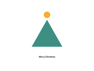 Merry Christmas christmas minimal illustration