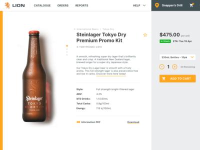 Supplier Portal Design