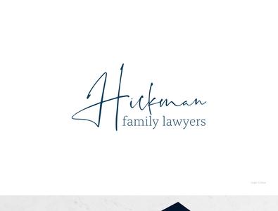 Hickman Family Lawyers Brand Design