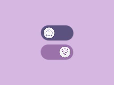 Daily UI #015 - On/Off Switch dailyui15 figma toggle switch dailyui design ux ui