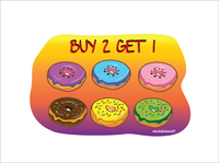 Donut Ilustrasi