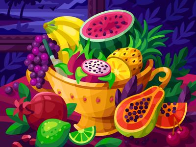 Juicy Fruits Bowl