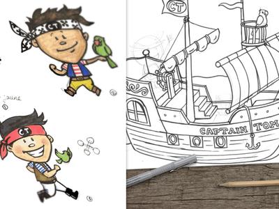 Captain Tom's Ship
