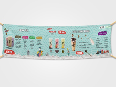 Mimiyoo - Banner Design milk food and drink product banner design banner