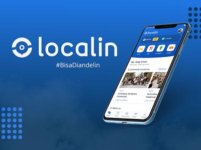 Localin Brand Identity Project community company brand logo logo brand design brand identity