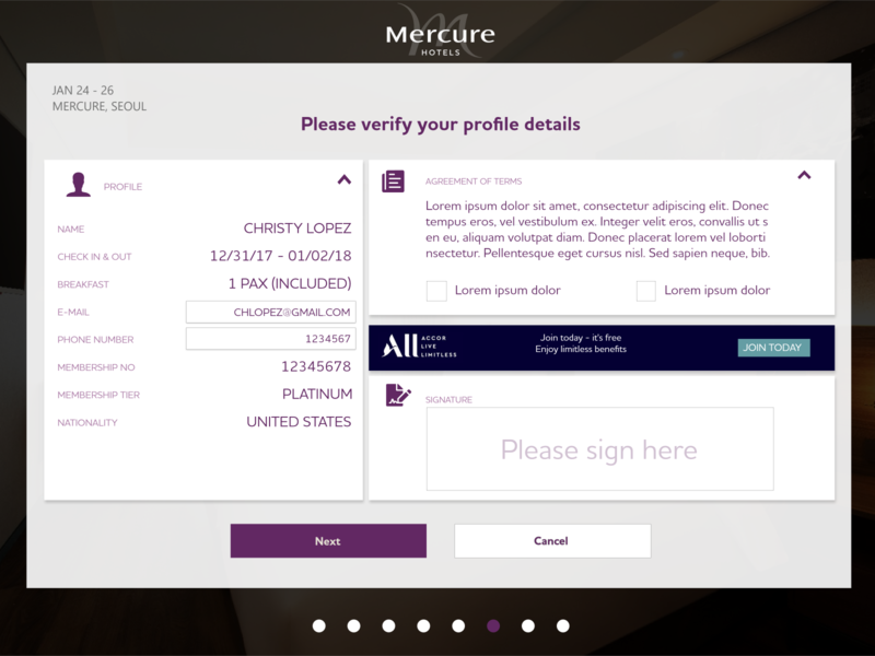 Profile Verification flat branding app ux ui minimal design