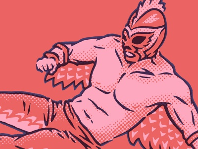Rooster Luchador wrestler rooster chicken outfit mask kick flying kicking punching fighting wrestling libre lucha luchador mexico mexican