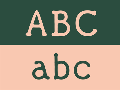 ABC specimen handwriting handwritten vintage old lettering letters typography typeface type font font design