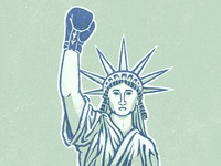 Lady Liberty Tough
