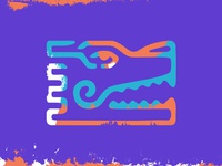 Mayan Snake Icon