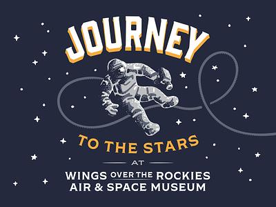 Astronaut Composition scene retro typography suit astronaut apollo nasa space exploration outer space