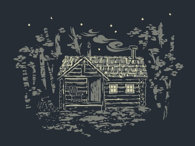 Rustic Cabin illustration