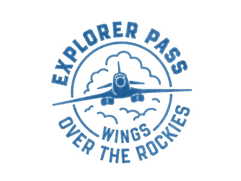 Wings Over Rockies Stamp