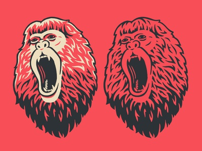 Howler Monkey Illustration