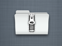 Zip Folder Icon (Retina)