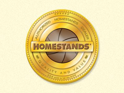 Authorized Dealer Crest crest coin gold aperture