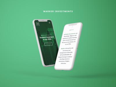 Marker Investments Responsive Website