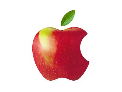 Applogical minimal design live healthy think different branding apples icon illustraion logo apple