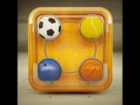 Quasi materialized Icon_Ball game