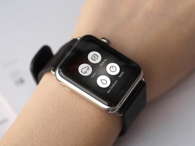 Car2Go: Apple Watch Prototype rental ios watch wearable commute travel car2go apple watch