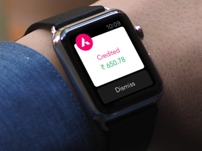 Axis Bank Watch Protoype iwatch ios clean wearable prototype apple watch bank axis