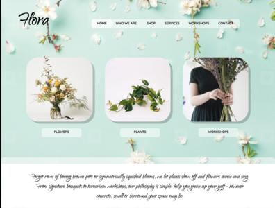 Flora Florist Web UI