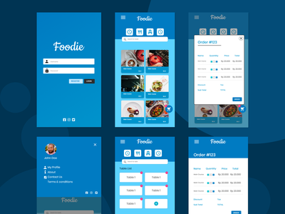 Mobile POS UI Design mobile design mobile app design logo app color xd design mobile ui design ux ui