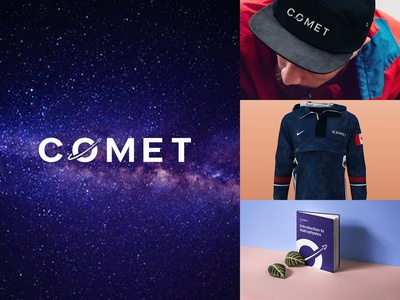 """Daily Logo Challenge: Day 1 - """"Comet"""""""