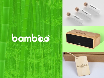 """Daily Logo Challenge: Day 3 - """"Bamboo"""""""