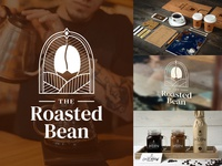 Daily Logo Challenge: Day 6 - The Roasted Bean