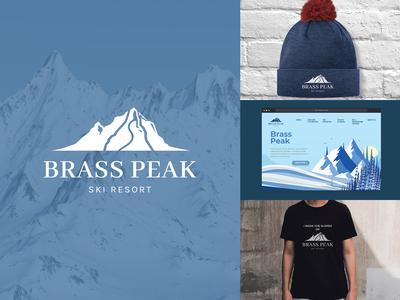 Daily Logo Challenge: Day 8 - Brass Peak