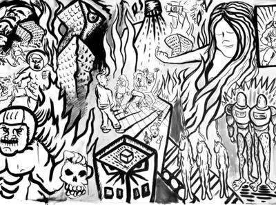 Visual storytelling collaboration project illustratie artistic artsy arts visual art visualization collaboration drawing pencil handdrawn utrecht illustrated story graphic storytelling visual illustration