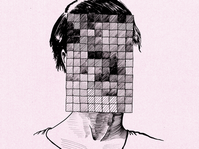 Face recognition surveillance lofi handdrawn utrecht illustratie censorship faces face cybersecurity donorbrain drawing illustration identitytheft surveillance faceid humanrights privacy facerecognition