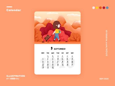 September:Go to school