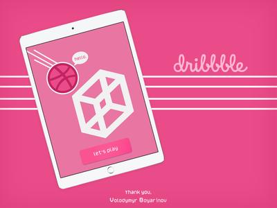 Hello, dribbble! :)