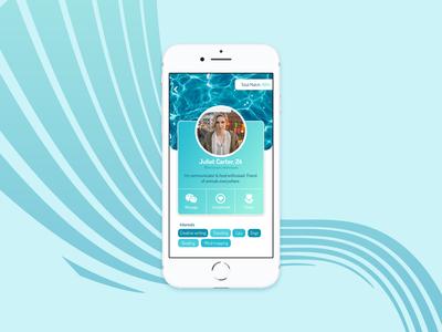 Dating app user profile