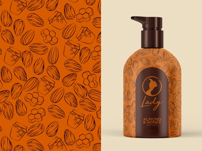 Almond and Honey Body Wash