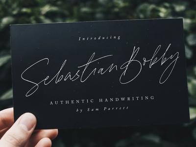Sebastian Bobby Handwritten Font