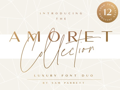 The Amoret Font Collection